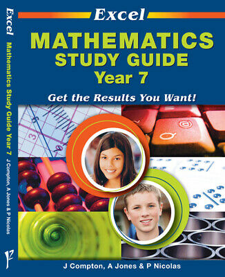 Excel Study Guide - Mathematics Year 7 NEW by Pascal Press 978174120.560