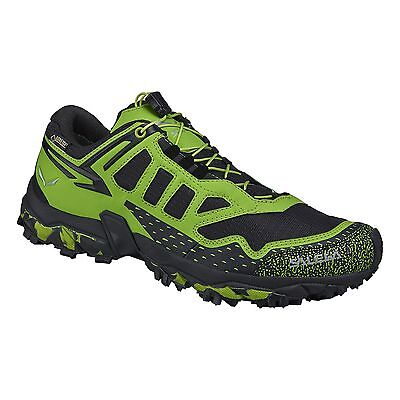 SALEWA Ms Ultra Train GTX Scarpe Trail Running Uomo Green Black