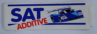 Aufkleber SAUBER MERCEDES SAT Additive Motorsport 80er Sticker Autocollant
