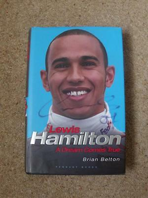 Lewis Hamiliton Autograph On His Book A Dream Comes True By Brian Belton  Photos