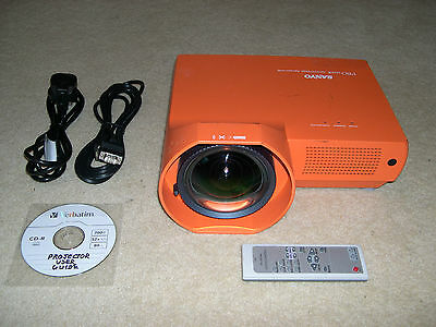 Sanyo PLC-XE40 ULTRA SHORT THROW LCD Projector Data/Video/HDTV/HD-Ready Security