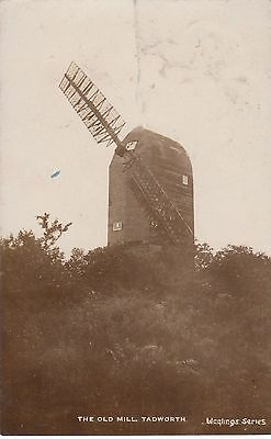 The Old Mill, Tadworth, Surrey, Real photo, old postcard, posted 1906