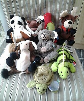 Vintage Collection Coca Cola Plush Soft Toys with labels