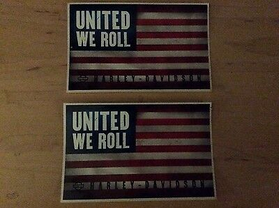 HD Harley Davidson USA America Stickers New Motorcycle sticker Uinted We Roll