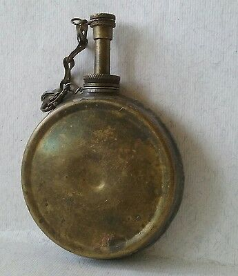 Vintage Military Brass Oil Can