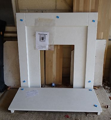 Marble FIreplace Surround & Hearth NEW