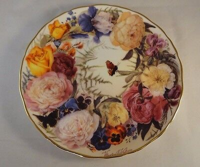 Rare Royal Albert Limited Collector Plate A Bouquet For Mother Understanding VGC