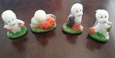 Vintage 1986 Casper the Friendly Ghost Candle Lot ~ Halloween ~ SEALED!