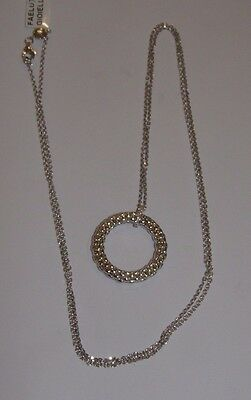 COLLANA ORO 18 KT DIAMANTI FOPE gold necklace DIAMONDS Goldkette DIAMONDS