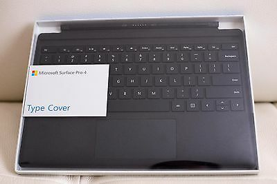 Genuine Microsoft Surface Pro 4 Type Cover Model-1725 Black