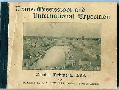 1898 Trans-Mississippi and International Exposition - Original Book of Views
