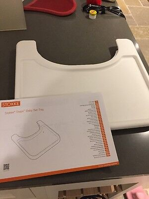 STOKKE STEPS Baby Set Tray - In White