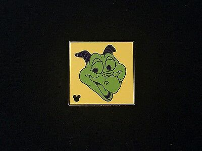 Disney Trading Pin - Hidden Mickey Colorful Figments Collection Yellow - 85543