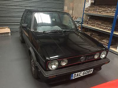 1983 VW GOLF GTi MK1 1.8 Black