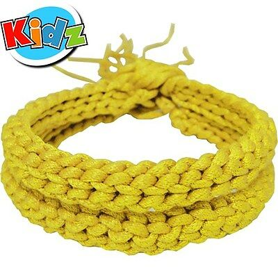Yellow (Kids) Muay Thai Thaiboxing Fighter Competition Arm Bands