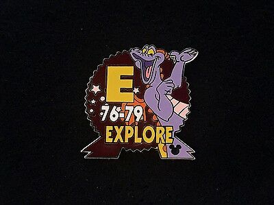 Disney Trading Pin - Cast Lanyard Epcot Parking Figment Explore E Sign - 42013
