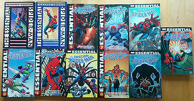 Lot of ALL 11 Essential Amazing Spider-Man COMPLETE Set 1 2 3 4 5 6 7 8 9 10 11