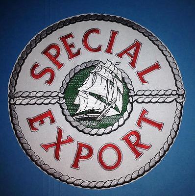 Pabst Heileman's Special Export Lager Beer Employee Uniform Iron On Jacket Patch