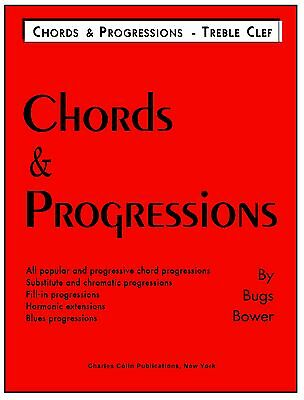 Chords & Progressions by Bugs Bower  (theory) - Charles Colin Publications