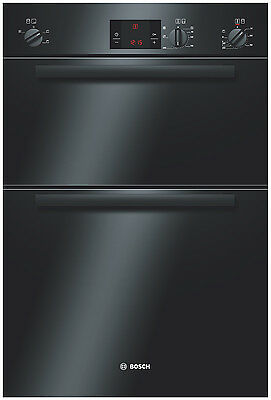 Bosch HBM13B160B Classixx Electric Built In Double Oven in Black 2