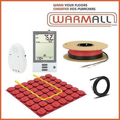 240V Electrical Radiant Floor Heating Cable Kit + Prodeso Membrane