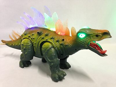 B/O Prehistoric Dinosaur, Stegosaurus, Realistic Dinosaur Sounds, Walking Light