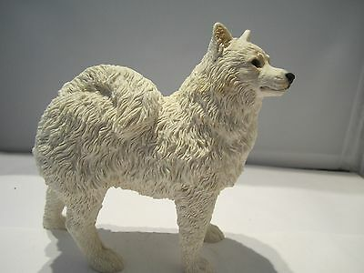Samoyed standing pup dog figure Castagna hand made in Italy beat the price rise