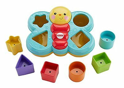 Fisher-Price - CDC22 - Jeux De Construction - Trieur De Forme Papillon -