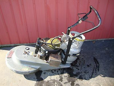 "27"" Cook Company Propane Powered Buffer / Scrubber/ Sander Polisher"