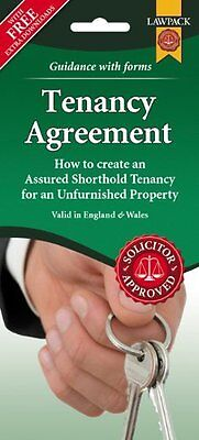 Unfurnished Tenancy Agreement Form Pack Mixed media product Book New
