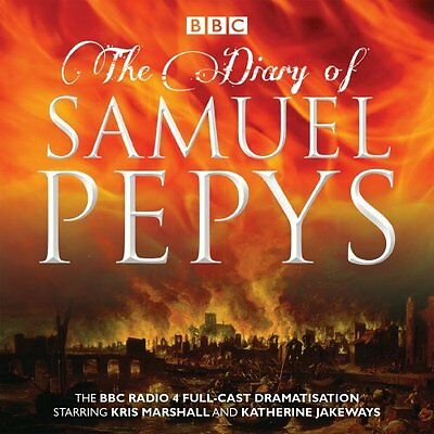 Diary of Samuel Pepys by Samuel Pepys CD-Audio Book New