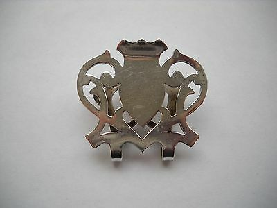 Sterling Silver Napkin Clip - Rogers, Lunt & Bowlen
