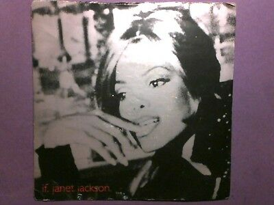 "Janet Jackson - If (7"" single) picture sleeve VS 1474"