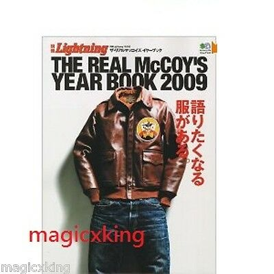Lightning The Real McCoy's Magazine Collection Book 2009 Flight Jacket RARE