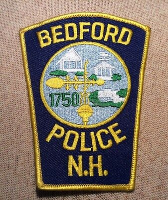NH Bedford New Hampshire Police Patch
