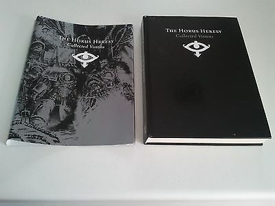 The Horus Heresy Collected Visions Art Book - Hardcover 2007 Warhammer 40k