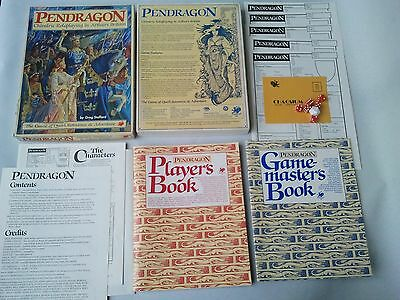 Pendragon - King Arthur Roleplaying Game by Chaosium 1985 RPG