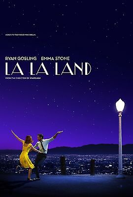 La La Land 27 X 40 Original 2016 D/s Theatrical Movie Poster - Double Sided!