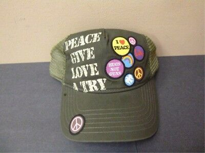 Trucker Hat - Peace Give Love A Try