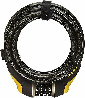 OnGuard Doberman 8031: 6' x 12mm Resettable Combination Bike Cable Lock - NEW