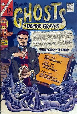 The Many Ghosts of Doctor Graves Comic Collection on DVD