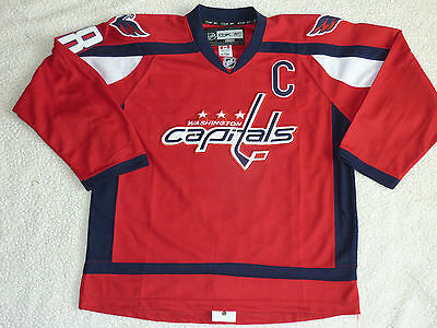 Washington Capitals | NHL Reebok / CCM Ice Hockey Jersey | Ovechkin #8 | Size 48