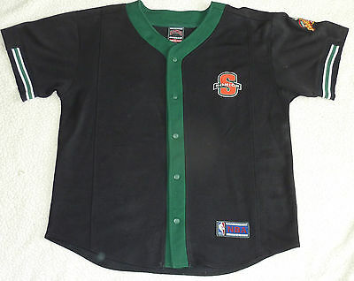 NBA | Seattle SuperSonics Vintage Warm Up Top | Nutmeg Mills Classic | X Large