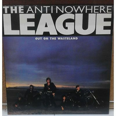 12 Inches - The Anti-Nowhere League - Out On The Wasteland - UK Punk, Oi!