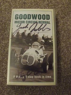 Jack Brabham & Stirling Moss Autographs On 1998 Goodwood Revival Video  Photos