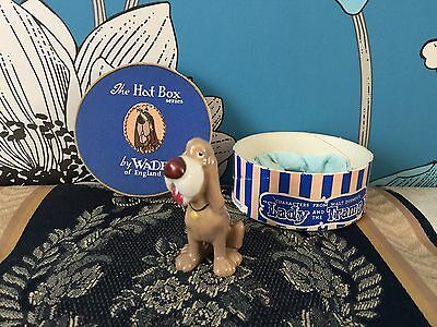 Very Collectable & Rare Wade Disney Hatbox Trusty -Lady And The Tramp Boxed No 4