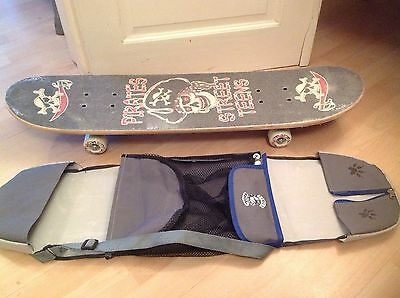Pirates Street Teens Skateboard Complete With Cover