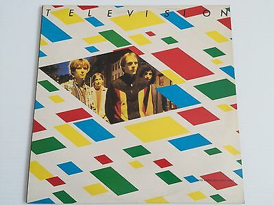 Television - Little Johnny Jewel 1979 EP Vinyl First Pressing A1 B1 Classic Punk