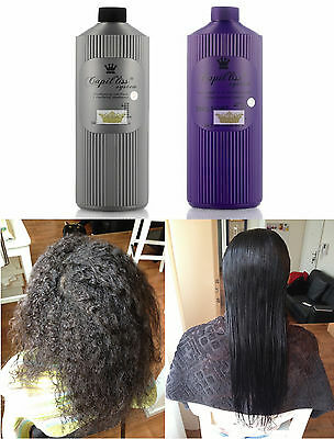 Capil'liss System Strong Kit Lissage Bresilien Shampoing + Traitement 2 X 1 L.