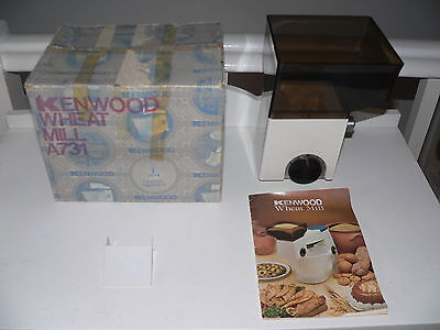 KENWOOD CHEF - Wheat Mill - A731  (Fits A700, A701 & A701a) Used once condition.